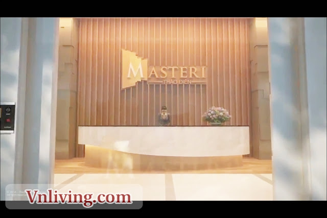 The Lobby Reception at Masteri Thao Dien Apartment District 2