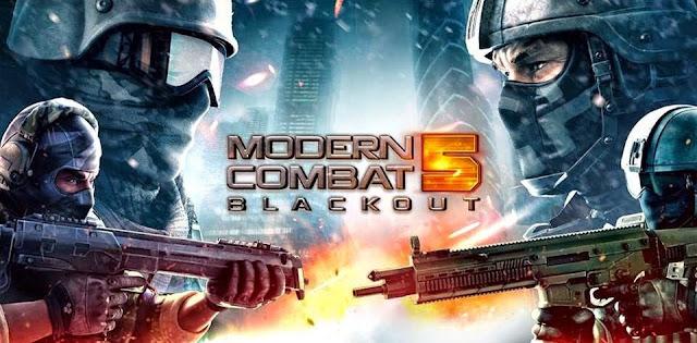 Modern Combat 5 Blackout v2.7.0j Mod Apk Data Terbaru (Unlimited Money)