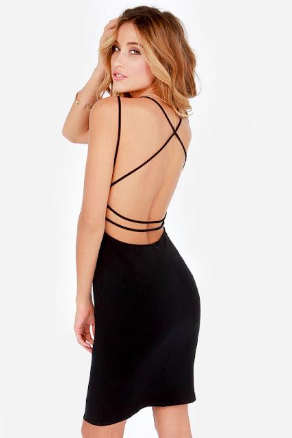 Vestidos con la espalda desnuda