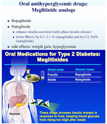 Meglitinide on Diabetes Drugs List