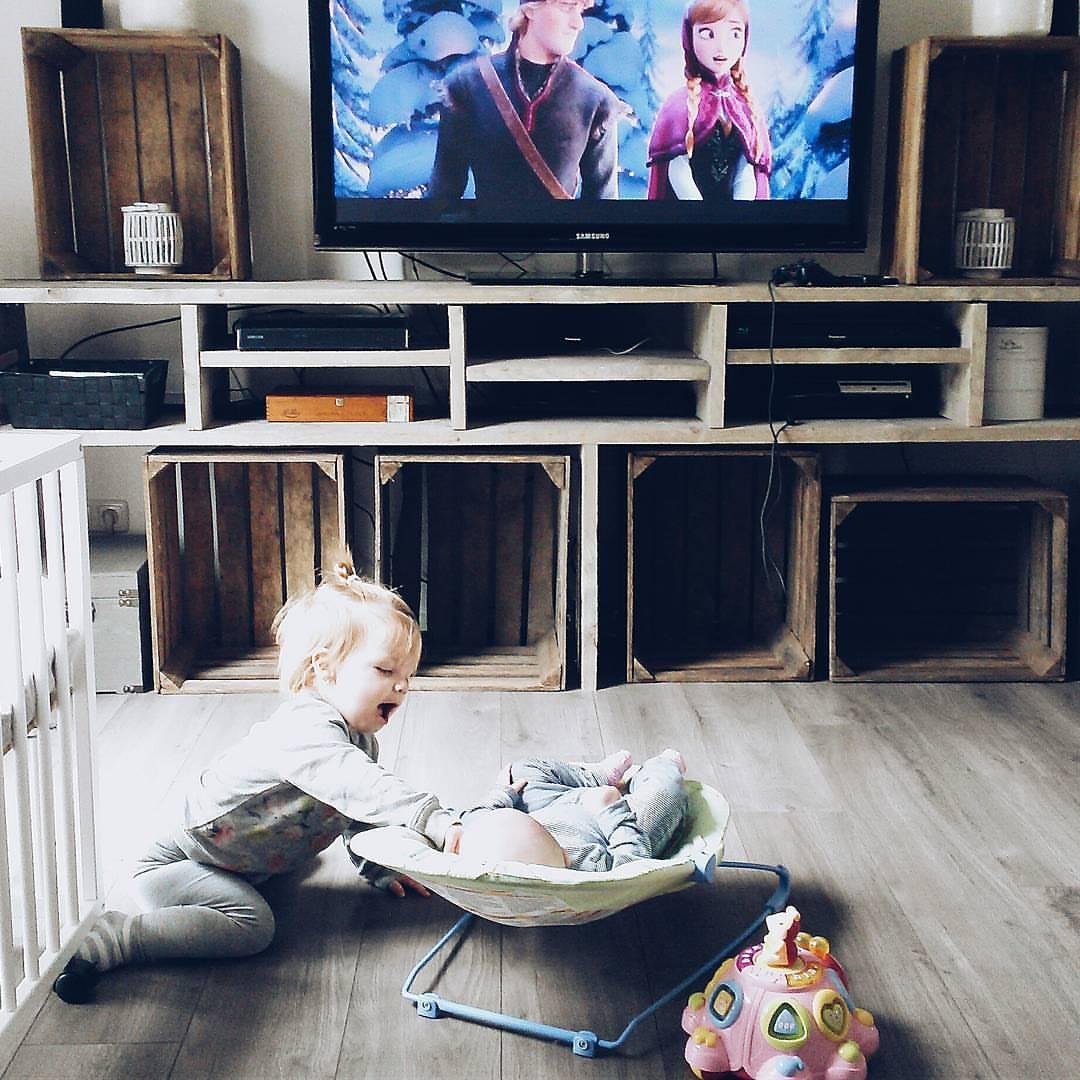 Voorkeur Kimmichaelis.nl: DIY - TV meubel van Steigerhout &UC93