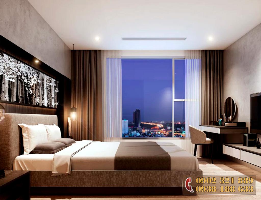 Nội thất căn hộ Kingdom 101 - Phòng ngủ căn hộ 2C