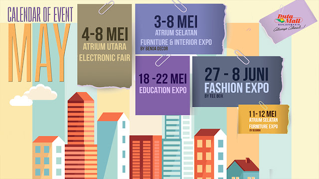 Jadwal Event dan Expo di Duta Mall Banjarmasin bulan Mei 2016