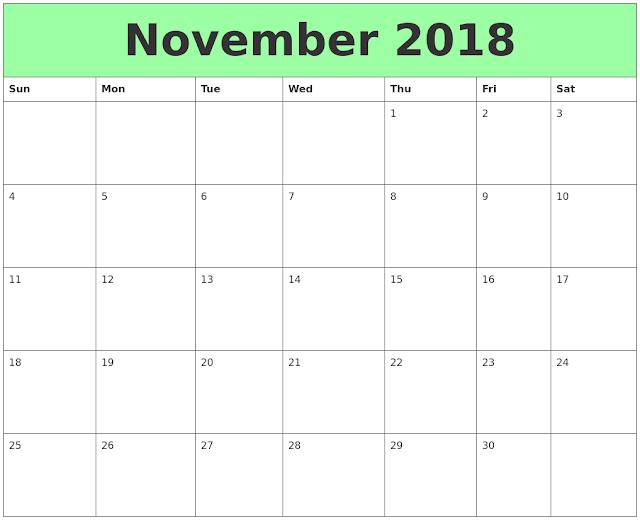November 2018 Calendar, November 2018 Printable Calendar, November 2018 Calendar Template, Blank November 2018 Calendar, November 2018 Calendar Printable, Calendar November 2018, November 2018 Calendar with Holidays, November 2018 Calendar PDF, November 2018 Calendar Word, November 2018 Calendar Excel