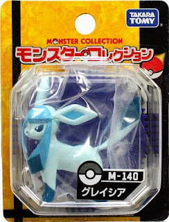 Glaceon figure Takara Tomy Monster Collection M series