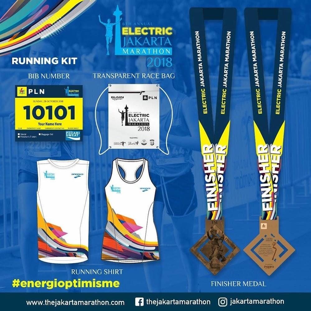Electric Jakarta Marathon • 2018 RPC