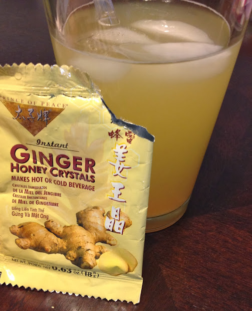 Design Ginger Honey Tea Hot Cold
