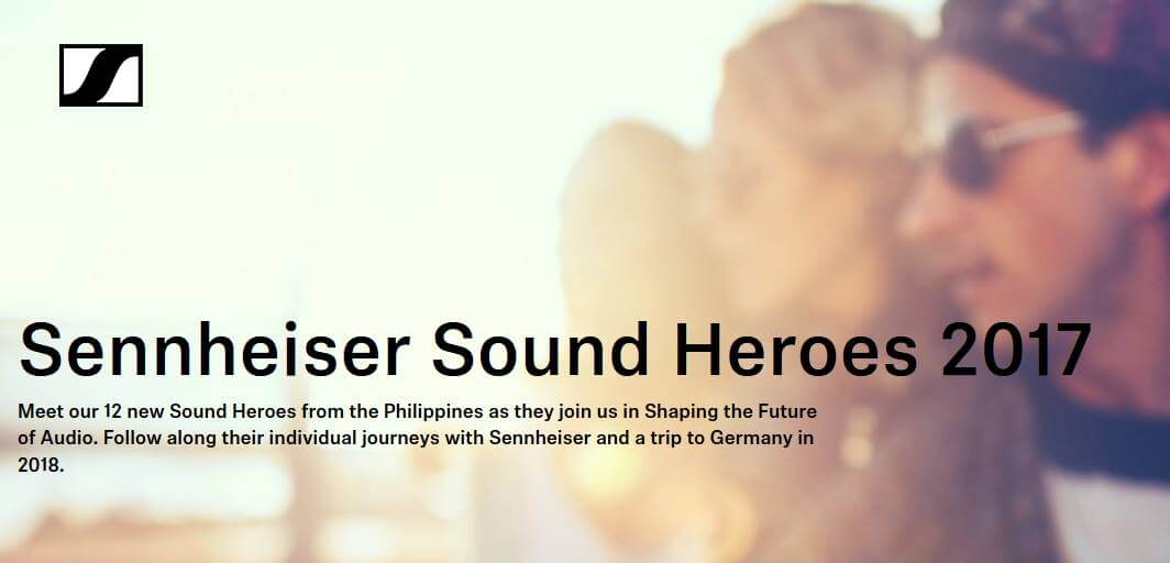 Sennheiser Launches Sound Heroes Campaign in the Philippines