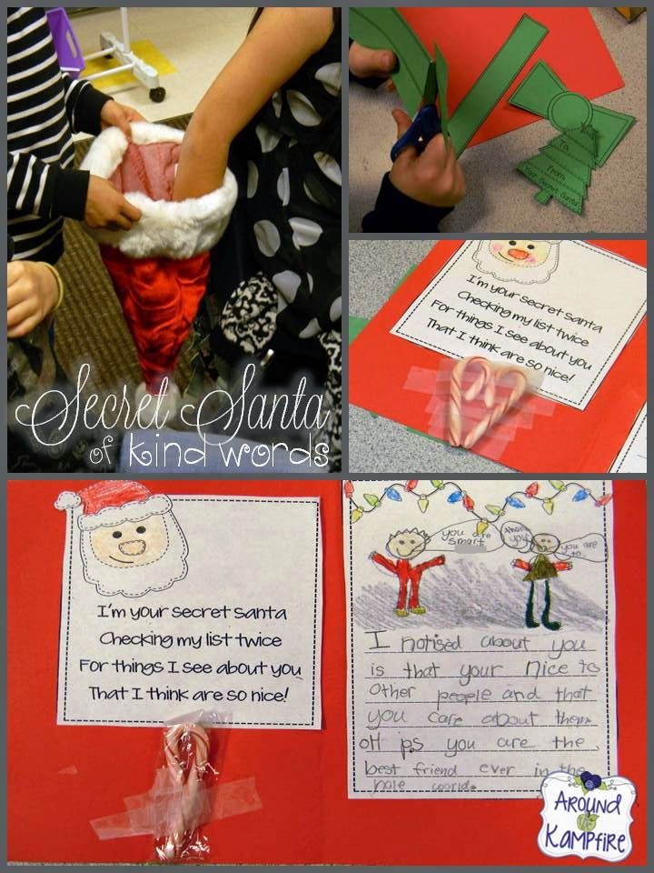 Promote classroom kindness with Secret Santa of Kind Words