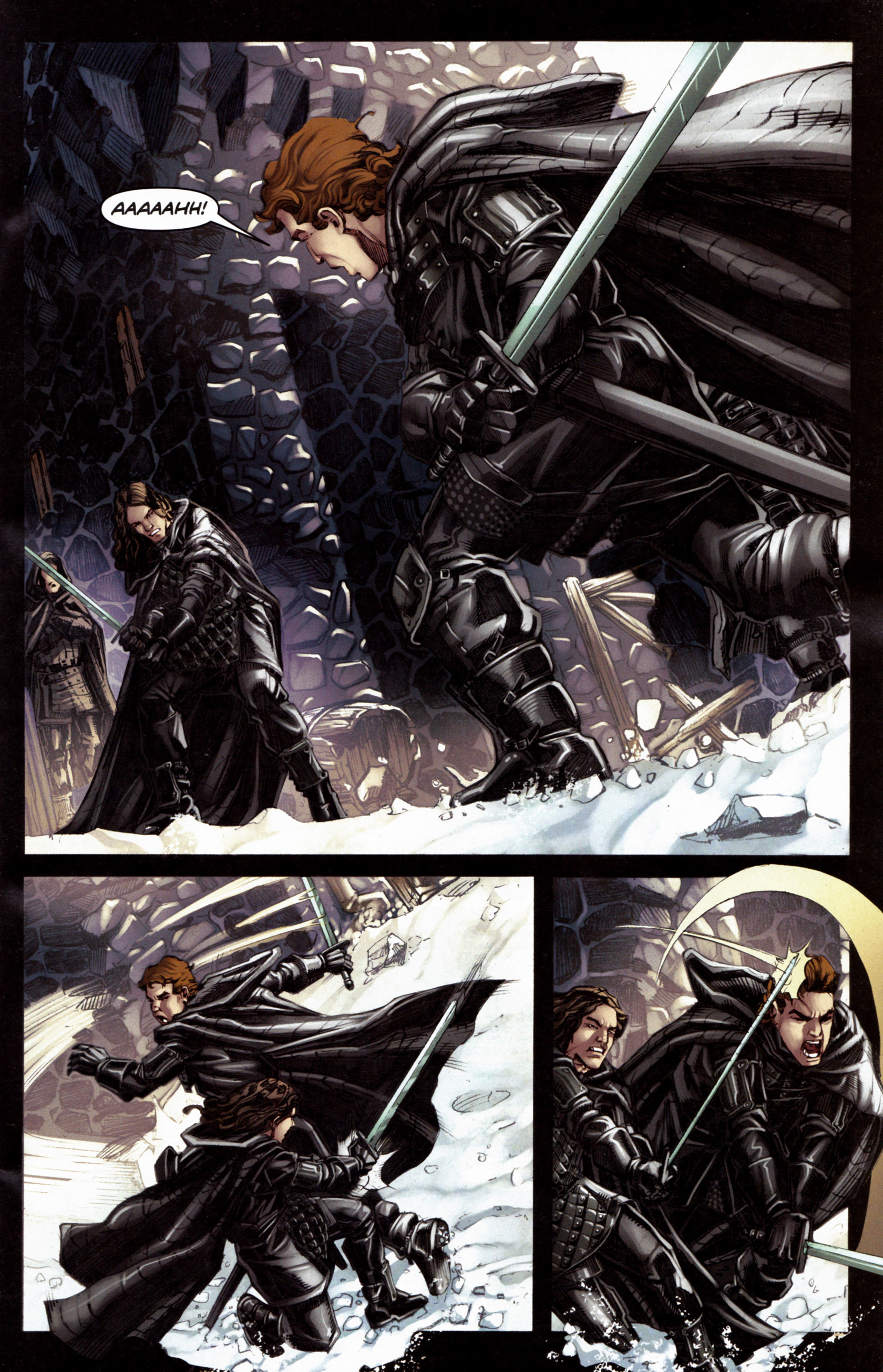 Read online A Game Of Thrones comic -  Issue #6 - 3