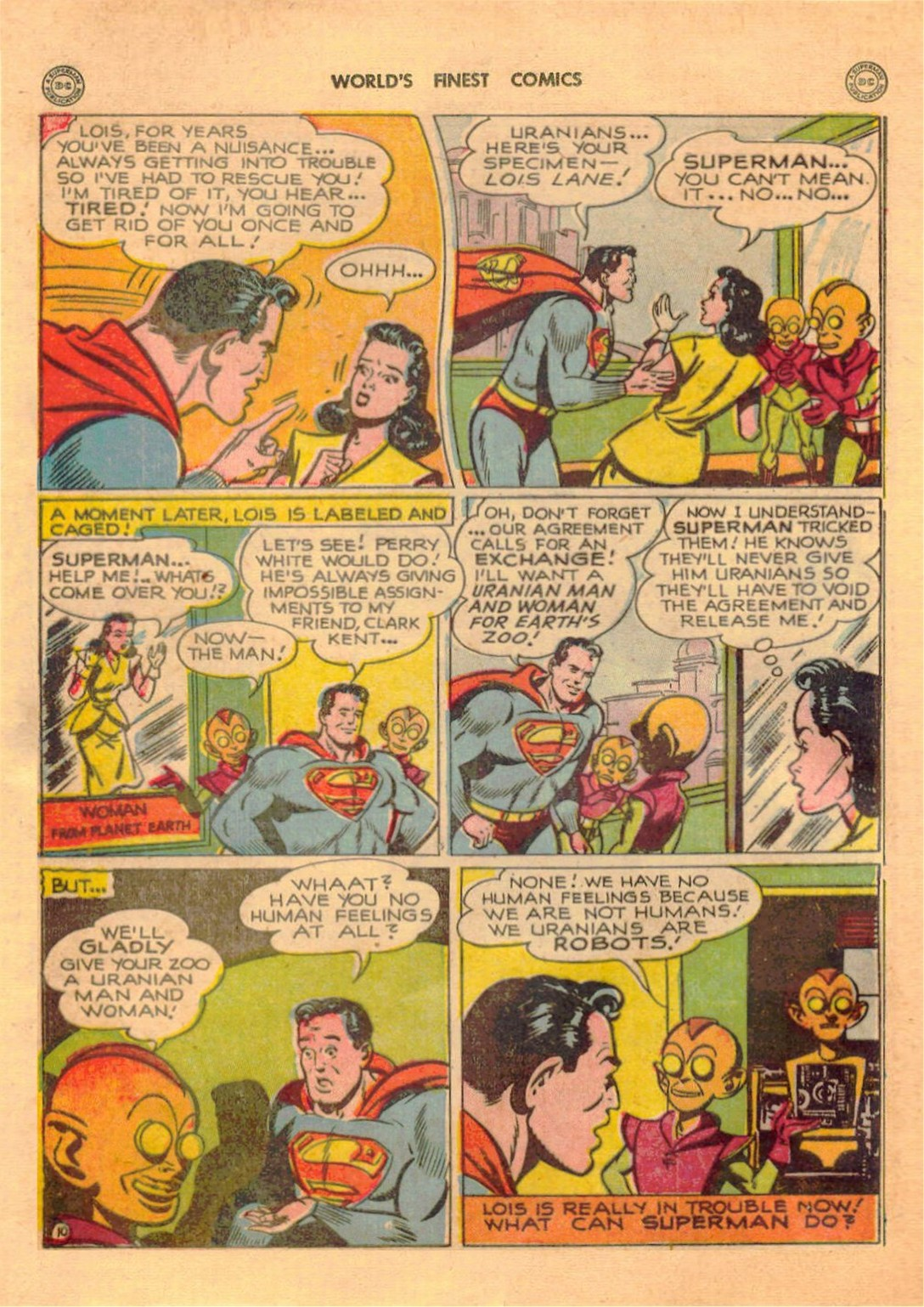 Read online World's Finest Comics comic -  Issue #42 - 12