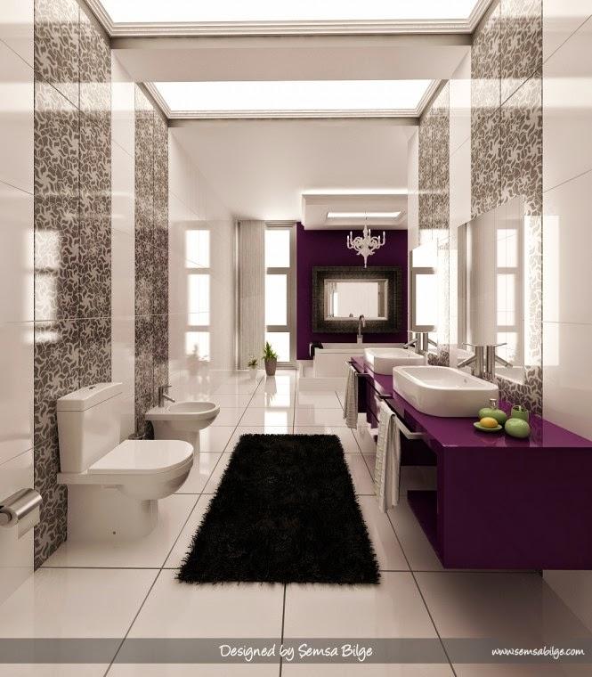 Lavender And Black Bathroom: Jak Urządzić łazienkę?