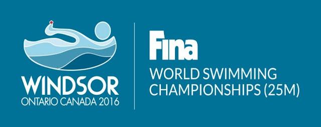 NATACIÓN - Mundial en piscina corta femenino 2016 (Windsor, Canadá)
