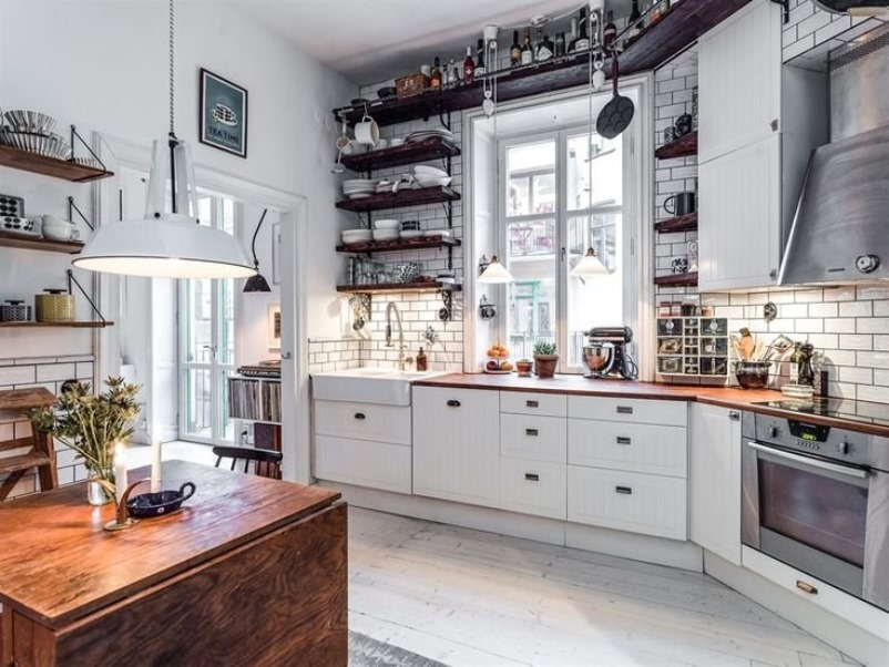 Scandinavian Style Kitchen Design Simple and Functional