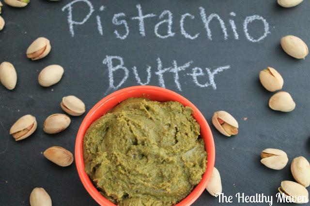 Homemade Pistachio Butter