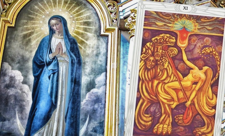 virgin mary/her Thelema counterpart