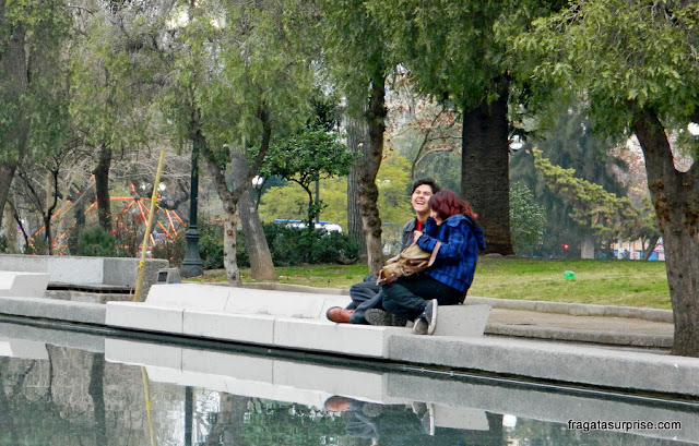 Parque Bustamante, Santiago do Chile