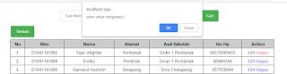 hapus data di database menggunakan php