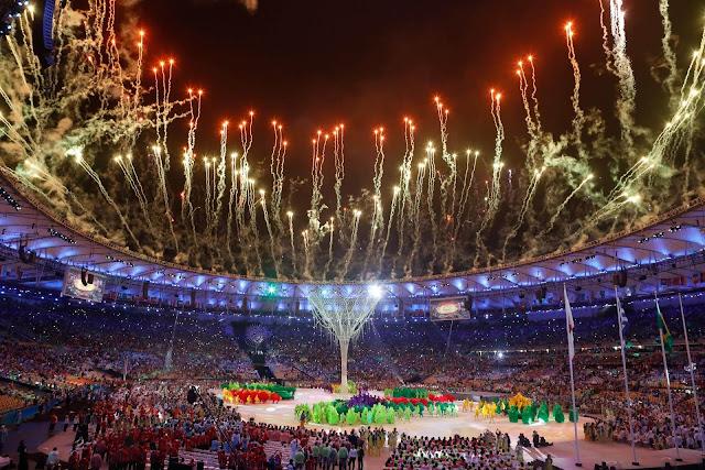 inauguracion de los juegos olimpicos de rio 2016