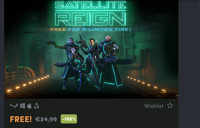 Satellite Reign gratis para Steam