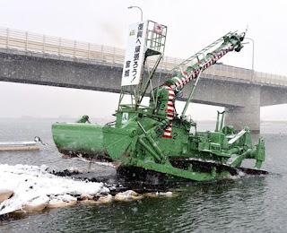 Amphibious Bulldozer D155W