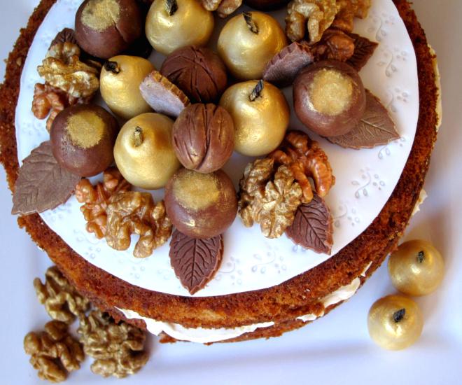 A Little Bit Of Heaven On A Plate...: Walnut Layer Cake