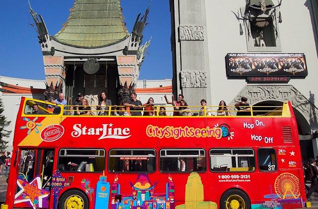 Sobre o passeio de ônibus turístico em Los Angeles