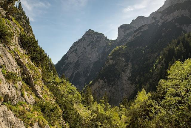 Höllentalklamm und Hupfleitenjoch  Wanderung Garmisch-Partenkirchen 05