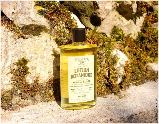 Lotion Botanique, soin corps unisexe - Féret Parfumeur - Blog beauté