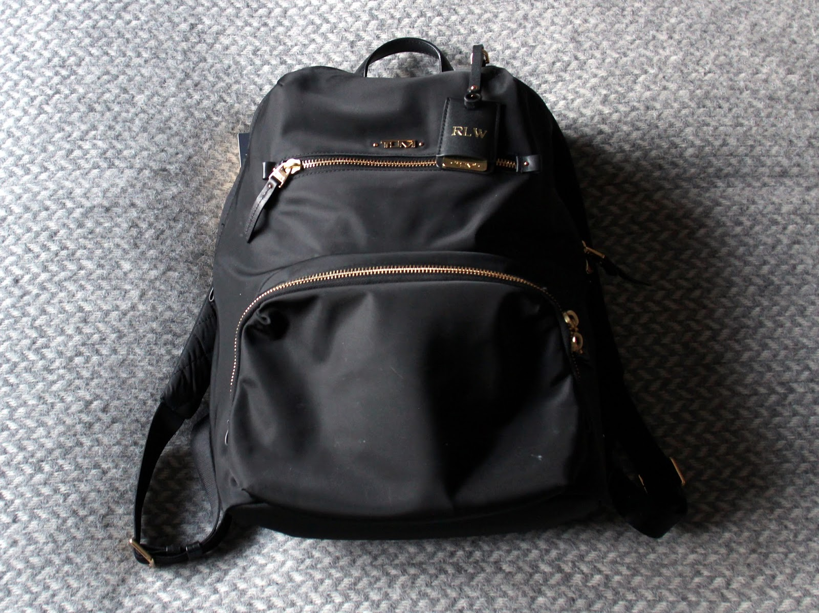 7ee96fab58 My parents bought me the Tumi Voyageur Halle backpack as an early birthday  present last year and it has replaced Longchamp s Le Pliage large shopper as  my ...