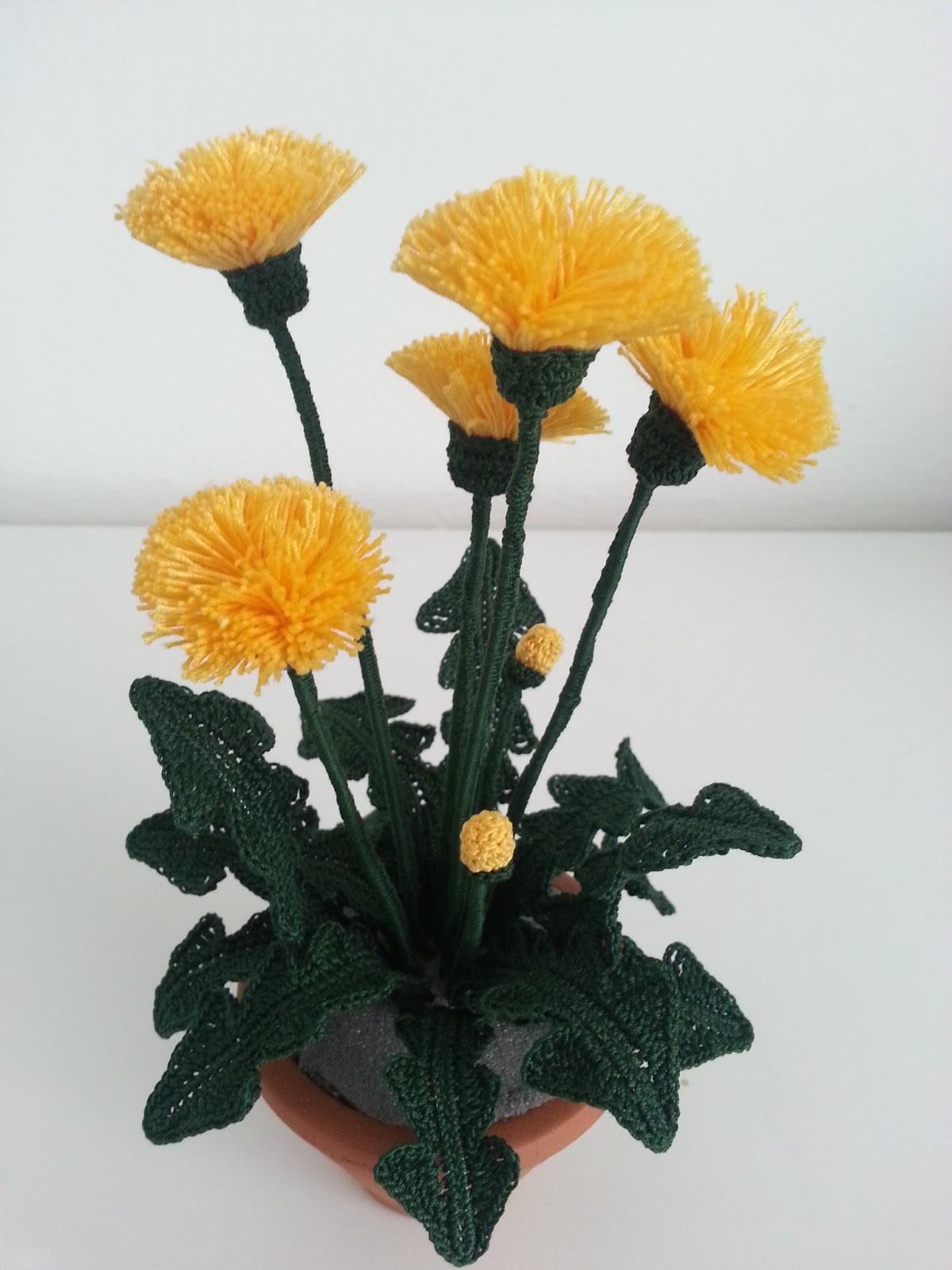 Il Blog Di Sam How To Crochet A Dandelion