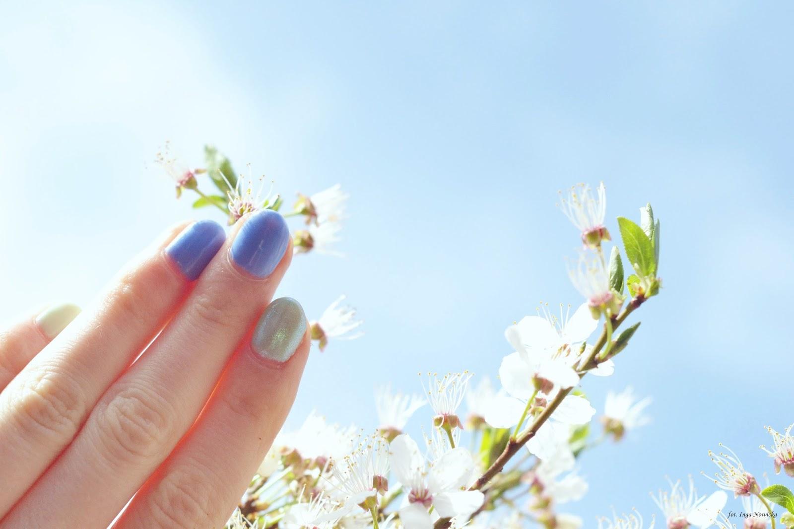wiosenne paznokcie inspiracje