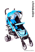 Chris and Olins Surf LightWeight Baby Stroller