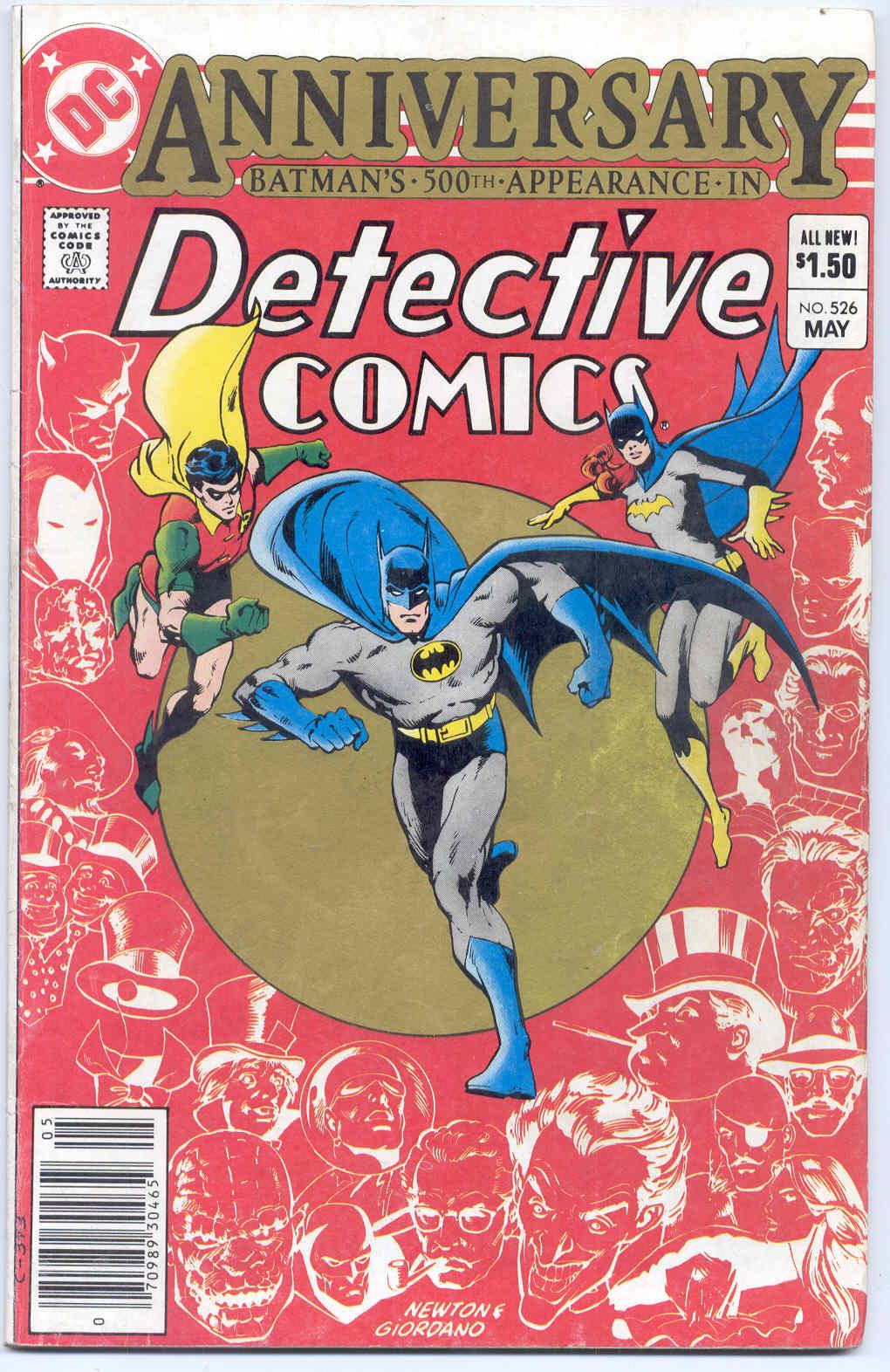 Detective Comics (1937) 526 Page 1