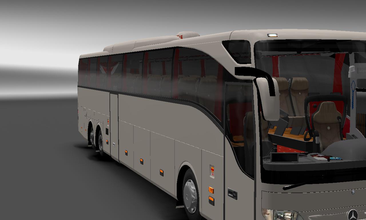 video games 4 playing: euro truck simulator 2 mod bus (car)