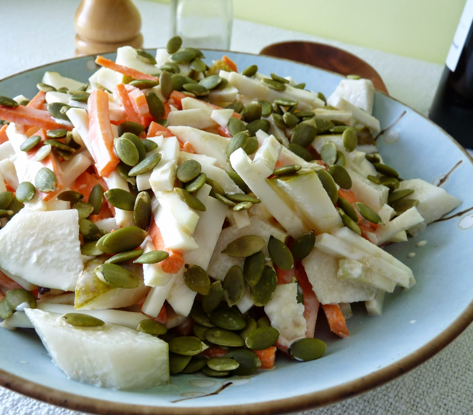 Pear & Celeriac Salad