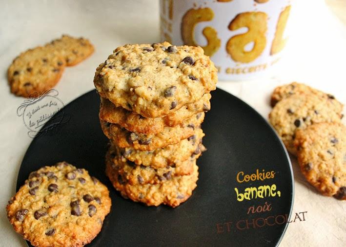 biscuits banane chocolat et noix de martha stewart