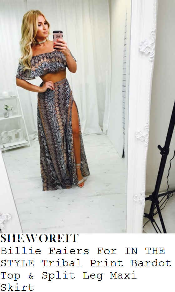 stephanie-pratt-billie-faiers-for-in-the-style-multicoloured-tribal-print-off-the-shoulder-crop-top-and-maxi-skirt