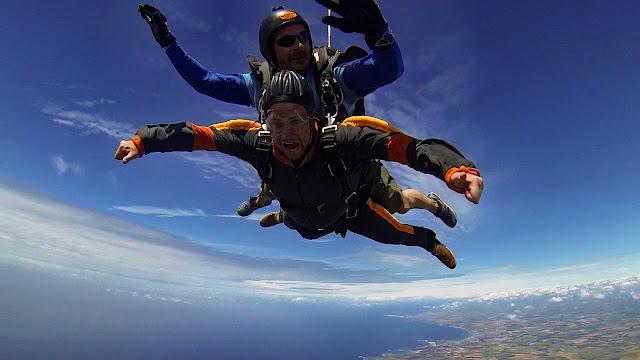 Mark Slater skydive Cornwall