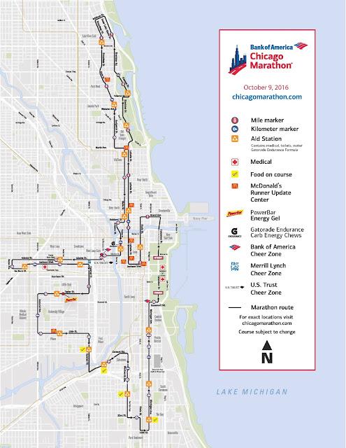 Asphalt Kitchen Race Recap Chicago Marathon 2016