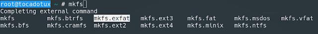 exFAT no Linux