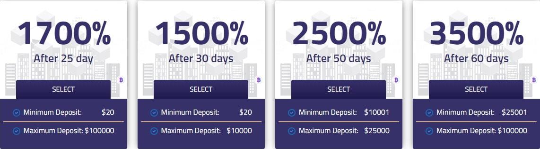 Инвестиционные планы ForexBit 2