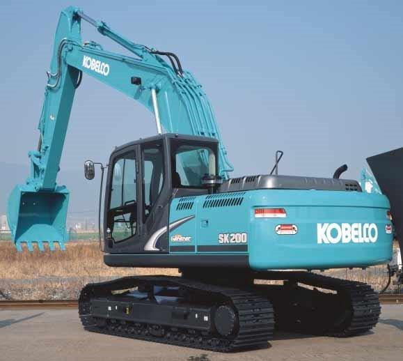 SunRise India EarthMovers: Excavator Kobelco SK210 Spare Parts