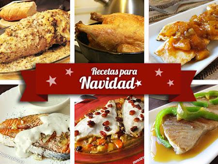 Recetas para Navidad. Segundos platos