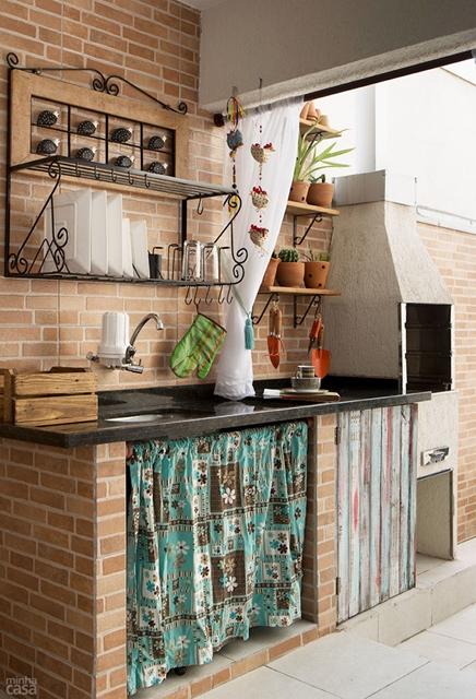 30 imagens para inspirar na hora de decorar a churrasqueira for Quiero ver cocinas
