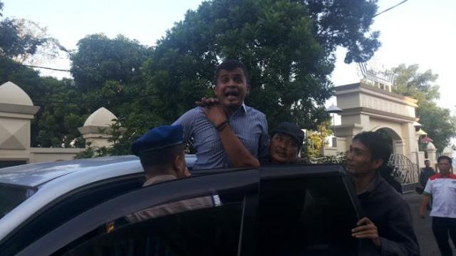 Briptu Niazi Teriak-teriak Di Pengadilan, Kasus Penyelundupan Sabu Di Polresta Bandar Lampung