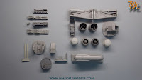 Arado Ar 234 B-2N, 1/32 Fly models 32008, inbox review - box contents