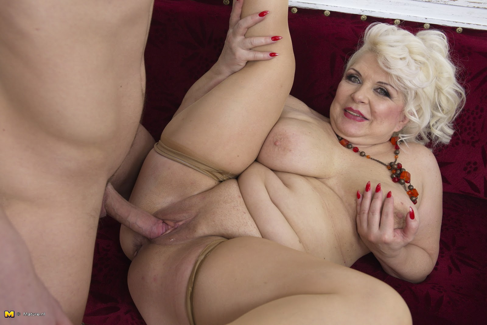 Archive Of Old Women Sofia Mature Toy Boy-5270