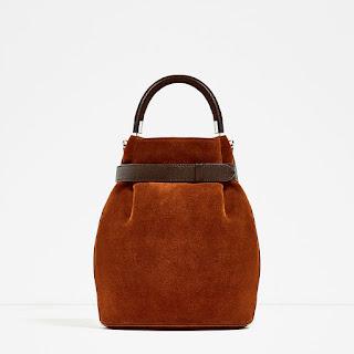 nuove borse da Zara: il secchiello con dettagli e prezzo