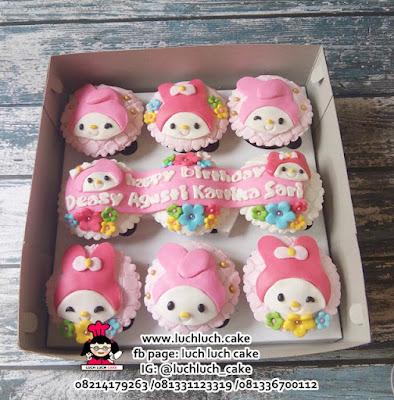 Cupcake Ulang Tahun My Melody
